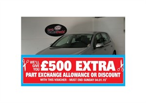 used VW Golf TDI MATCH 5DR AUTOMATIC in lincolnshire-for-sale