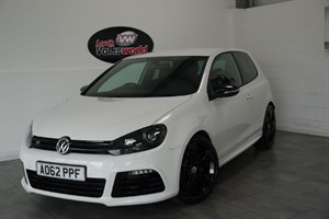 used VW Golf TSI R 3DR 4MOTION FULL LEATHER INTERIOR in lincolnshire-for-sale