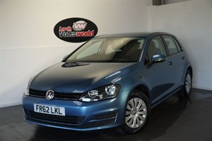 used VW Golf TSI S BLUEMOTION 5DR £30 P/YEAR TAX in lincolnshire-for-sale