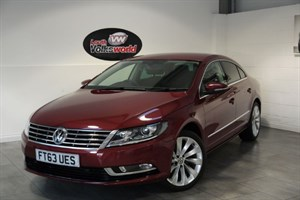 used VW Passat CC TDI GT BLUEMOTION 4DR AUTOMATIC SAT NAV FULL LEATHER INTERIOR SAVE £1000 in lincolnshire-for-sale