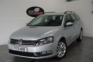 used VW Passat TDI HIGHLINE BLUEMOTION 4DR ESTATE SAT NAV £30 P/YEAR TAX in lincolnshire-for-sale