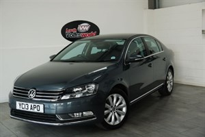 used VW Passat TDI BLUEMOTION HIGHLINE 4DR SAT NAV CRUISE CONTROL in lincolnshire-for-sale