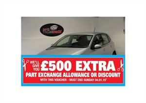 used VW Polo SE 5DR AUTOMATIC FULL SERVICE HISTORY LOW MILEAGE in lincolnshire-for-sale