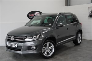 used VW Tiguan TDI BLUEMOTION R LINE 5DR FULL LEATHER INTERIOR FRONT AND REAR PARK ASSIST in lincolnshire-for-sale