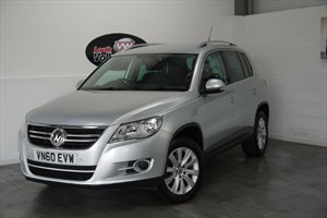 used VW Tiguan TDI MATCH 5DR FRONT AND REAR PARK ASSIST in lincolnshire-for-sale