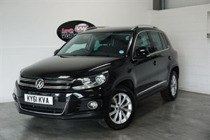 used VW Tiguan TDI BLUEMOTION SE 5DR FULL SERVICE HISTORY FRONT AND REAR PARK ASSIST in lincolnshire-for-sale