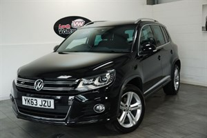 used VW Tiguan TDI BLUEMOTION R-LINE 5DR AUTOMATIC  in lincolnshire-for-sale