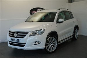 used VW Tiguan TDI R LINE 5DR FULL SERVICE HISTORY HIGH SPEC in lincolnshire-for-sale