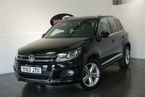 used VW Tiguan R LINE TDI BLUEMOTION TECH 4MOTION AUTOMATIC in lincolnshire-for-sale