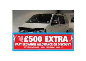 used VW Transporter T26 TDI 145 BHP STARTLINE NO VAT in lincolnshire-for-sale