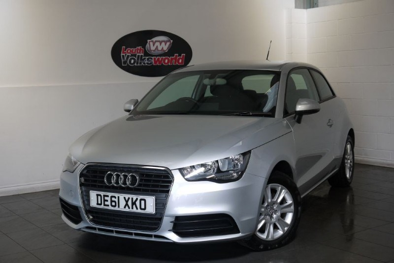 used Audi A1 TDI SE 3DR 70 PLUS MPG £0 R/F LICENCE in lincolnshire-for-sale