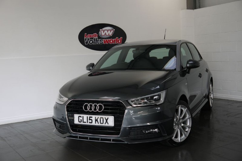 used Audi A1 TDI S LINE 5DR SAT NAV £0 P/YEAR ROAD TAX in lincolnshire-for-sale