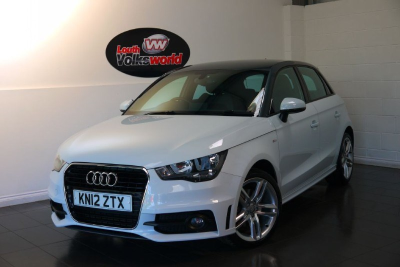 used Audi A1 TFSI S LINE 5DR SAT NAV HALF LEATHER INTERIOR REVERSE PARK ASSIST in lincolnshire-for-sale