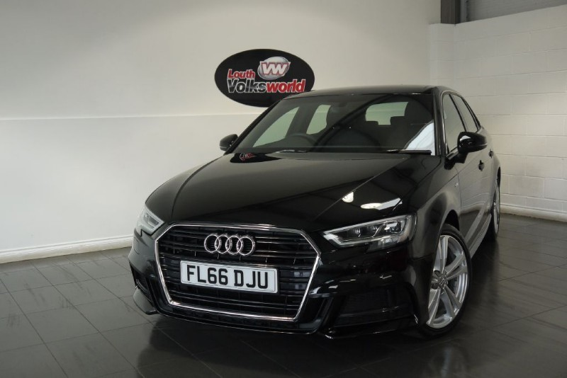 used Audi A3 TDI S LINE 5DR AUTOMATIC PAN ROOF COMFORT AND SOUND PACK in lincolnshire-for-sale