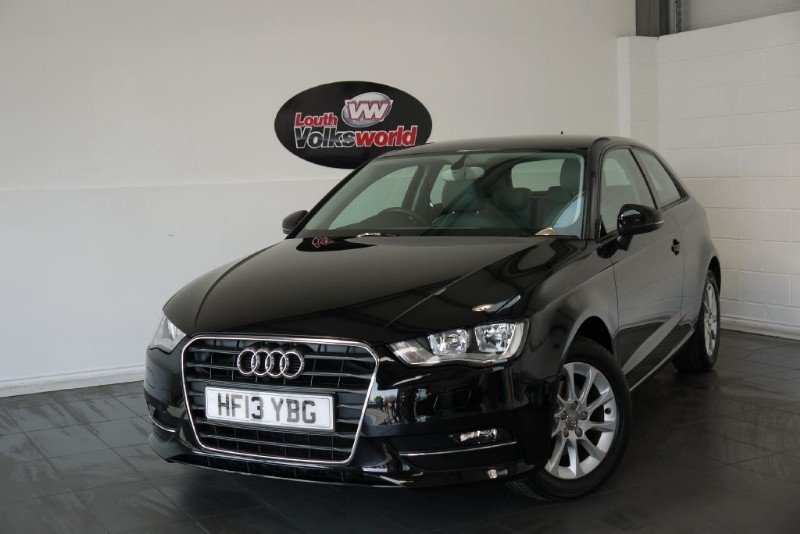 used Audi A3 TDI SE 3DR 70 MPG £0 R/F LICENCE in lincolnshire-for-sale