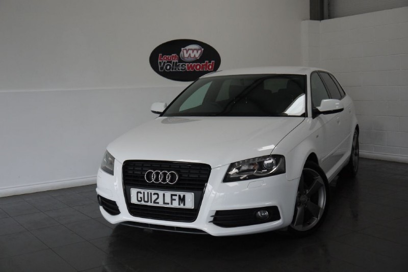 used Audi A3 TDI S-LINE 5DR SPECIAL EDITION £30 P/YEAR TAX in lincolnshire-for-sale