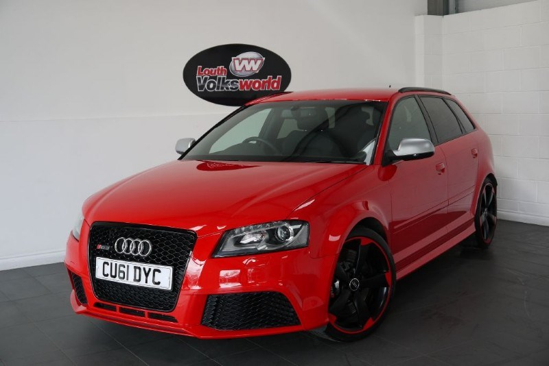used Audi A3 RS3 QUATTRO 5DR AUTOMATIC SAT NAV CRUISE CONTROL BLACK STYLE PACKAGE in lincolnshire-for-sale