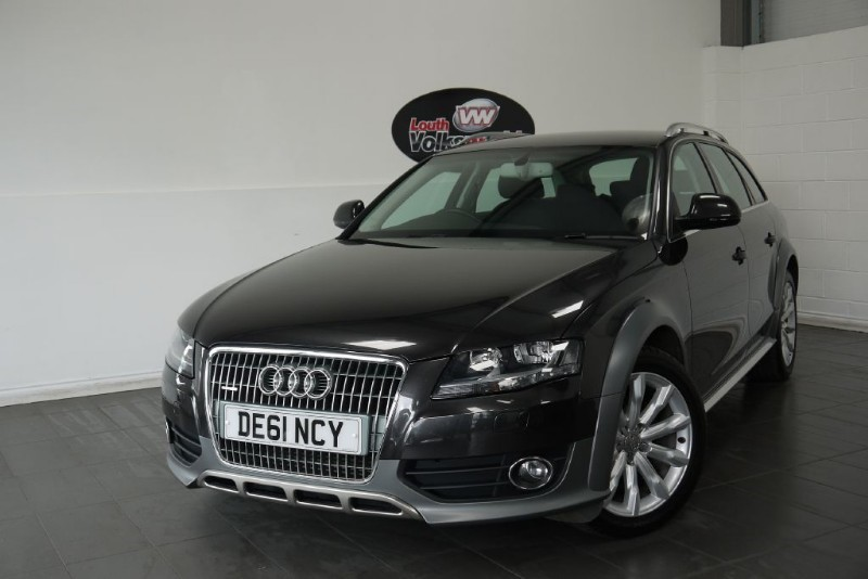 used Audi A4 allroad TDI QUATTRO 5DR ESTATE in lincolnshire-for-sale