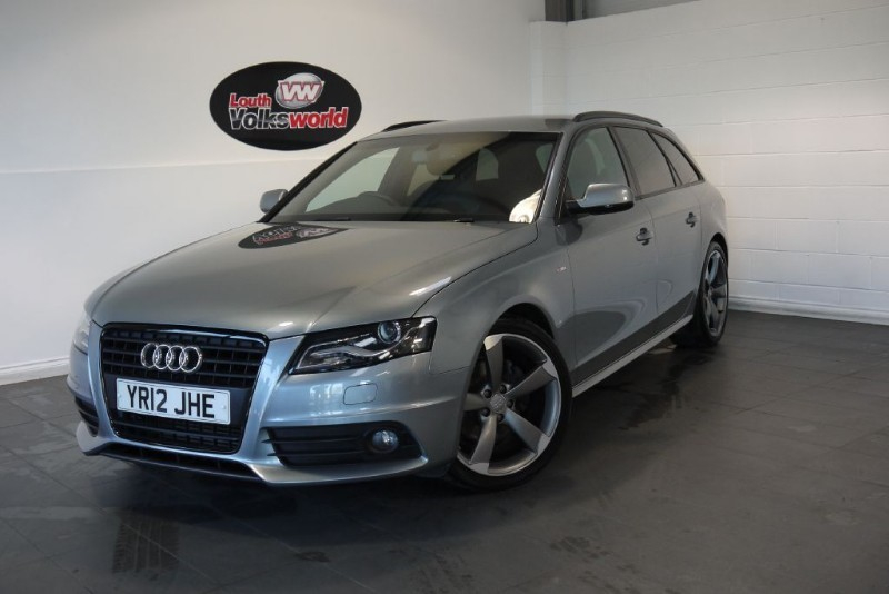 used Audi A4 Avant TDI S LINE BLACK EDITION 5DR ESTATE in lincolnshire-for-sale