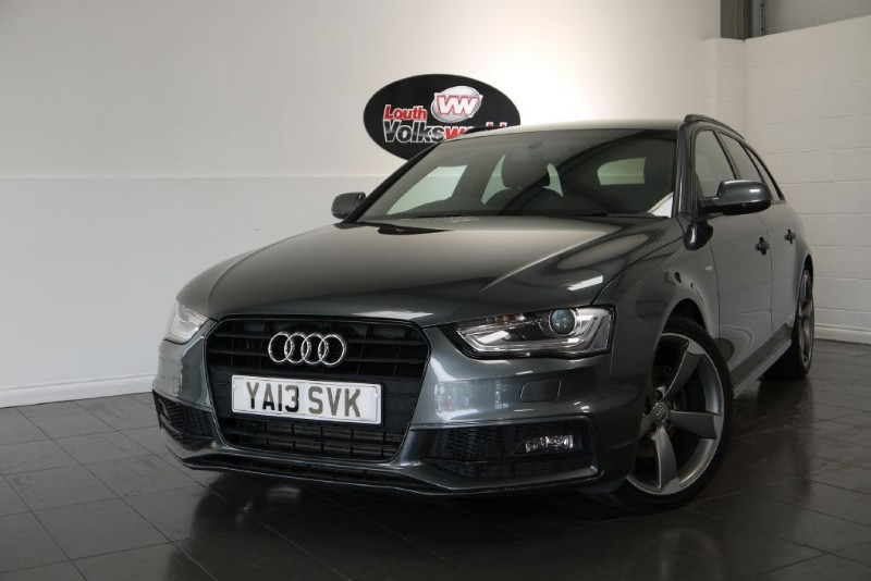 used Audi A4 Avant TDI S LINE BLACK EDITION AIR CON HALF LEATHER in lincolnshire-for-sale