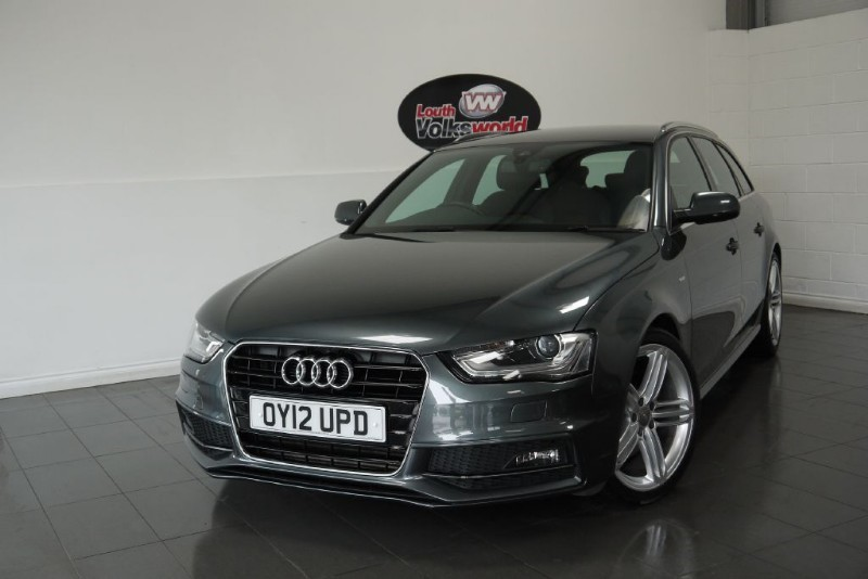 used Audi A4 Avant TDI S LINE 5DR ESTATE AUTOMATIC SAT NAV UPGRADED LEATHER in lincolnshire-for-sale