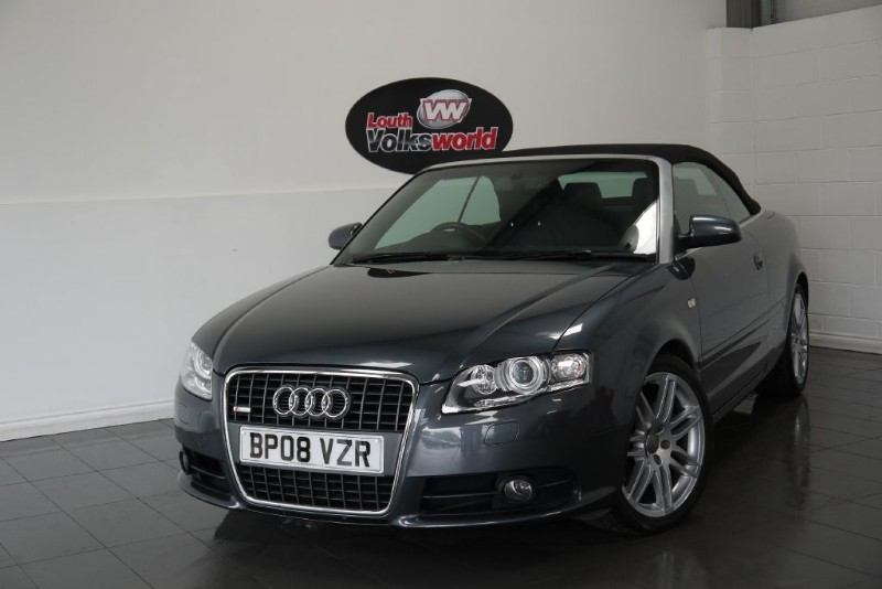 used Audi A4 T FSI FINAL EDITION CONVERTIBLE in lincolnshire-for-sale