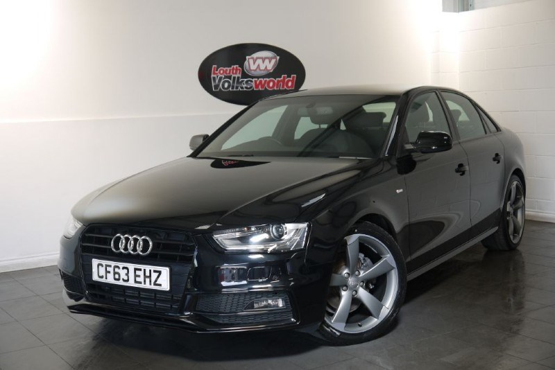 used Audi A4 TDI S LINE 4DR BLACK EDITION in lincolnshire-for-sale