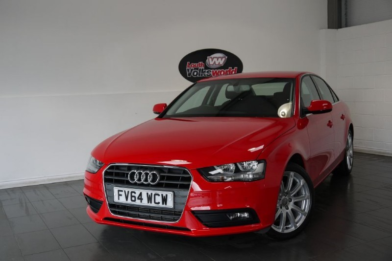 used Audi A4 TDI SE TECHNIK 4DR SAT NAV FULL LEATHER INTERIOR in lincolnshire-for-sale