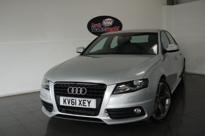 used Audi A4 TDI S LINE BLACK EDITION SAT NAV in lincolnshire-for-sale