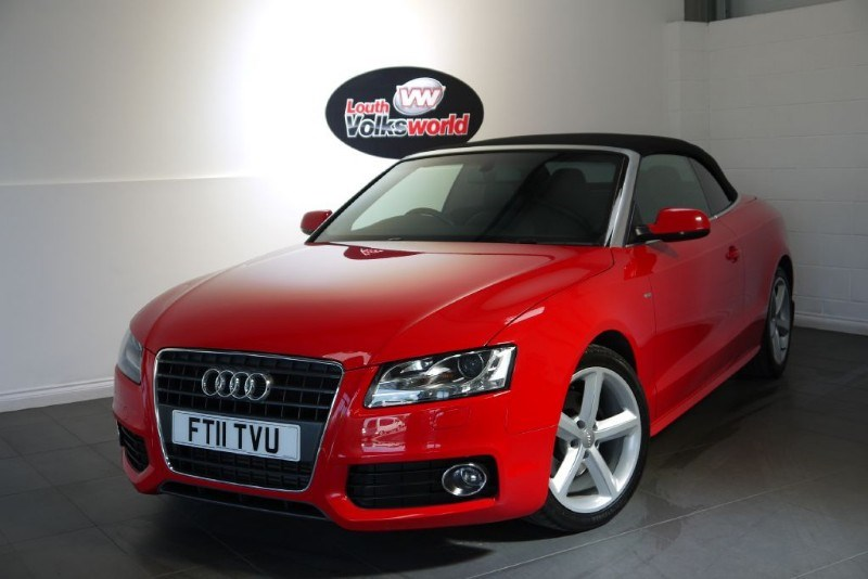 used Audi A5 TDI S LINE 2DR HALF LEATHER CRUISE CONTROL in lincolnshire-for-sale