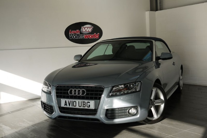 used Audi A5 TDI S LINE 2DR FULL LEATHER INTERIOR in lincolnshire-for-sale