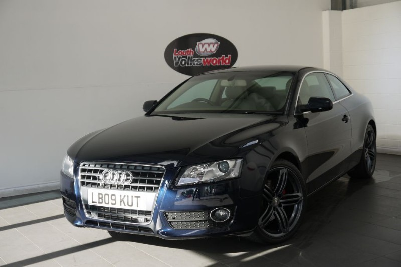 used Audi A5 TDI SE 3DR FULL LEATHER INTERIOR in lincolnshire-for-sale