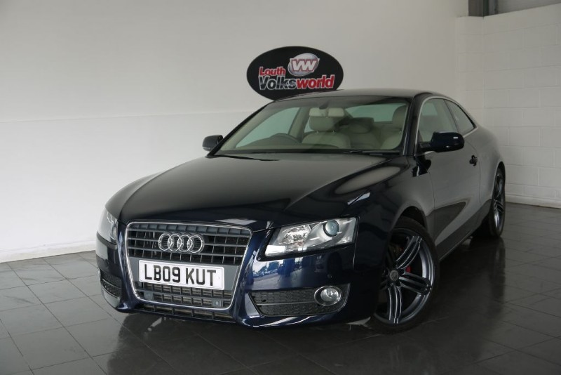 used Audi A5 TDI SE 3DR FULL LEATHER INTERIOR SAVE £1000 in lincolnshire-for-sale