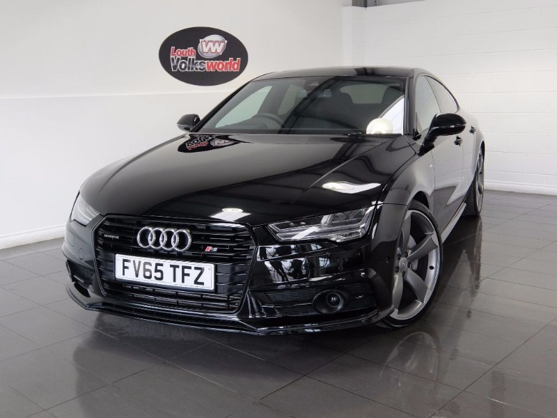 used Audi A7 SPORTBACK TDI QUATTRO S LINE BLACK EDITION OVER £10,000 OF EXTRAS T in lincolnshire-for-sale