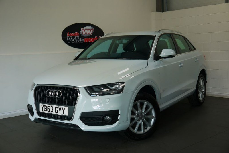 used Audi Q3 TDI SE QUATTRO 5DR AUTOMATIC ONLY 13000 MILES in lincolnshire-for-sale
