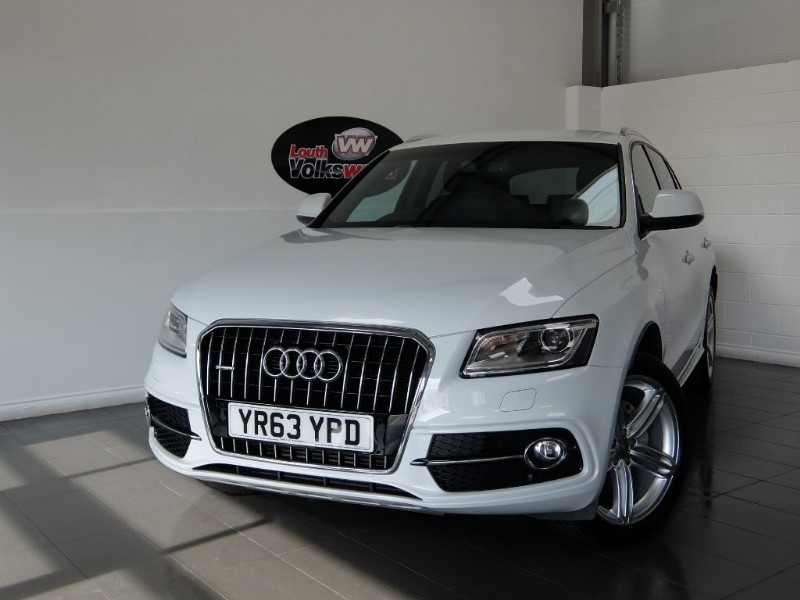 used Audi Q5 TDI S-LINE PLUS QUATTRO 5DR SAT NAV FULL LEATHER INTERIOR in lincolnshire-for-sale