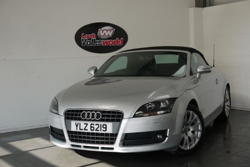 used Audi TT TFSI 2DR CONVERTIBLE in lincolnshire-for-sale