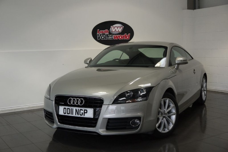 used Audi TT TDI SPORT QUATTRO ONE OWNER FULL SERVICE HISTORY LOW MILEAGE  in lincolnshire-for-sale