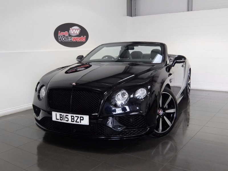 used Bentley Continental GTC V8 S GTC MULLINER DRIVING SPECIFICATION  in lincolnshire-for-sale