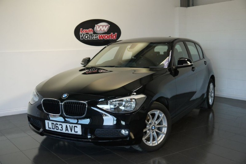 used BMW 116d SE 5DR SAT NAV £20 P/YEAR TAX in lincolnshire-for-sale