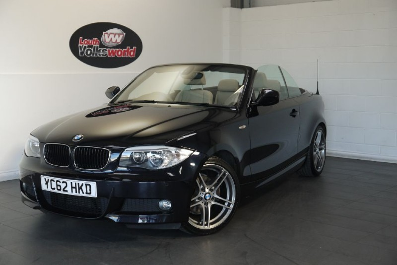 used BMW 118d SPORT PLUS EDITION 2DR CONVERTIBLE in lincolnshire-for-sale