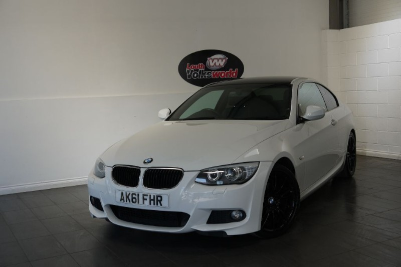 used BMW 320i M SPORT 2DR FULL LEATHER INTERIOR in lincolnshire-for-sale