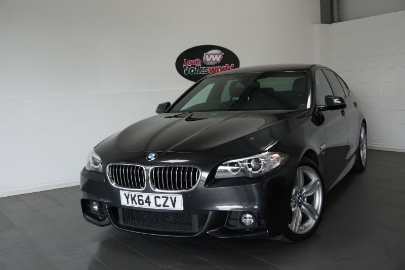 used BMW 520d M SPORT PLUS PROFESSIONAL MEDIA INTERNET in lincolnshire-for-sale