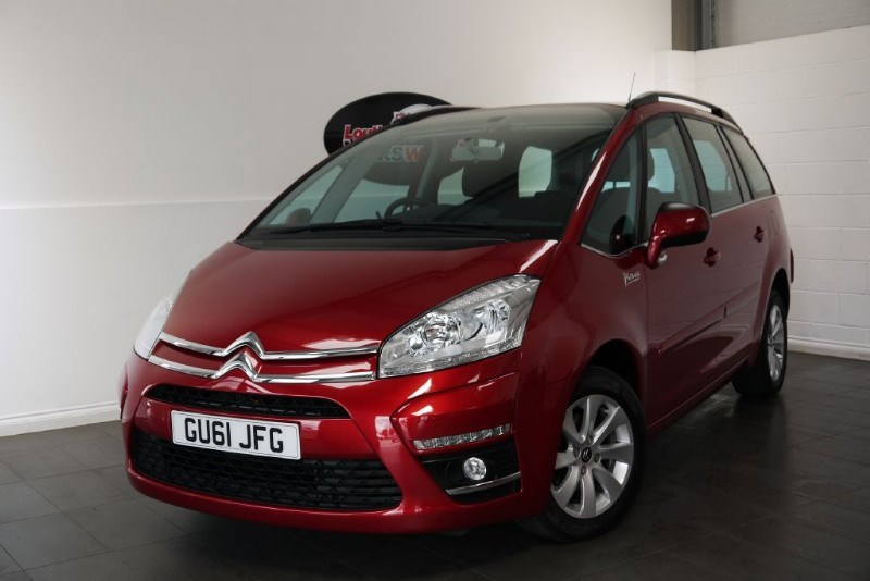 used Citroen C4 Grand Picasso HDI VTR PLUS 5DR AUTOMATIC in lincolnshire-for-sale