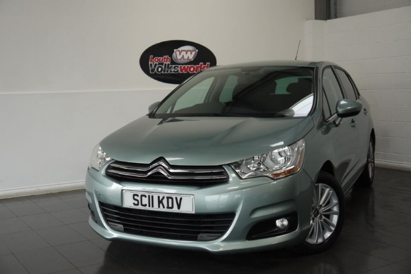 used Citroen C4 HDI VTR PLUS 5DR £20 P/YEAR TAX in lincolnshire-for-sale