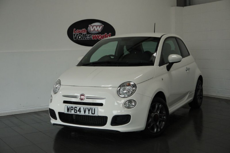 used Fiat 500 1.2 SPORT 3DR ONLY 4000 MILES in lincolnshire-for-sale