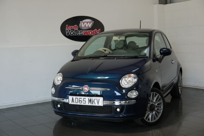 used Fiat 500 LOUNGE 3DR AIR CON PAN ROOF REAR PARK ASSIST in lincolnshire-for-sale