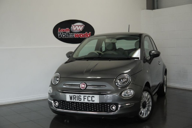 used Fiat 500 LOUNGE 3DR £20 P/YEAR TAX in lincolnshire-for-sale