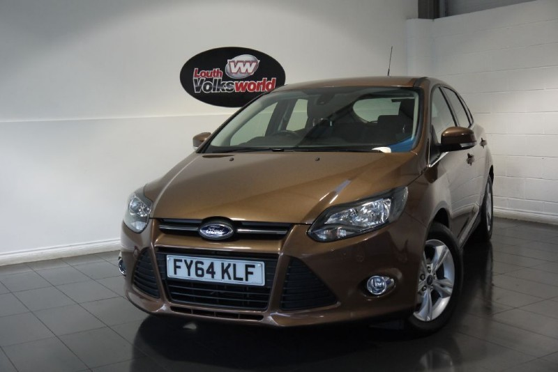 used Ford Focus ZETEC 5DR FULL SERVICE HISTORY in lincolnshire-for-sale