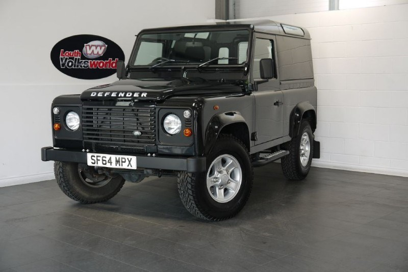used Land Rover Defender 90 TD HARD TOP BOOST ALLOYS NO VAT in lincolnshire-for-sale
